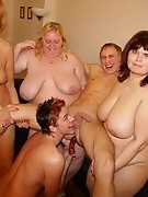 This is one hot mature sexparty that rocks
