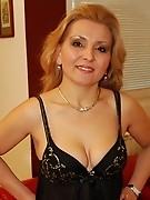 This fine mature slut gets a warm creampie