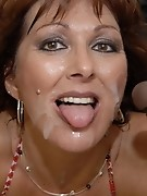 Horny mama craving loads of black cocks
