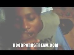black hood ghetto Army Head