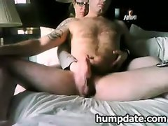 Lucky guy gets nice handjob with happy end