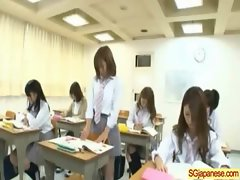 Asian In School Uniform Get Hard Sex video-33