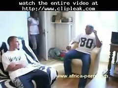 Hot Booty Ebony Fucked By Big Cock In Interracial Gangbang