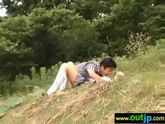 Outdoor Sexy Teen Asian Get Nailed video-32