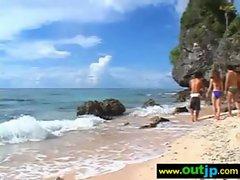 Outdoor Sexy Teen Asian Get Nailed video-15