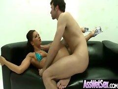 Wet Ass Girl Get Hard Anal Fucked video-07