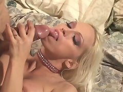 Naughty nurse Nikki Hunter takes very good care of her patients cock