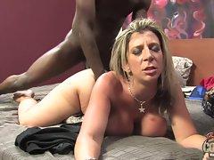 Sara Jay gets black dick splitting her tight hole
