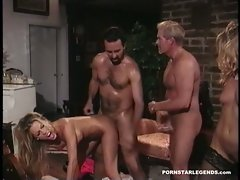Tabitha Stevens having her pretty pussy pounded hard from behind