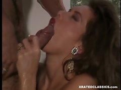Nici Sterling opens wide for her reward after fucking her man