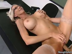 Gorgeous Emma Starr gets her tight pussy pulverized