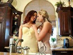 Jayden Cole and Phoenix Marie hot lesbians get horny