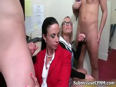 Horny office girls with nice asses part2