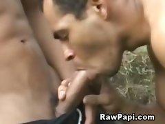 Military Gay Bareback Outdoors