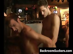 Gay Bareback Sex Goes Down part4