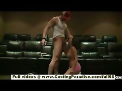 Isis Monroe amateur tattoo teen girl blowjobs and riding huge dick