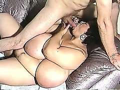 Mature BBW has really big tits