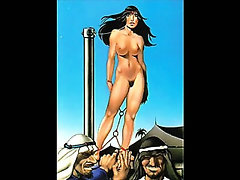 Classic Female Bondage Artworks