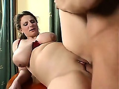 German mature with big boobies