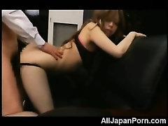 Teen Asian Secretary Fucked in POV!
