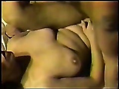 Interracial MILF Threesome