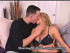 Hot Wife's Pussy Drilled