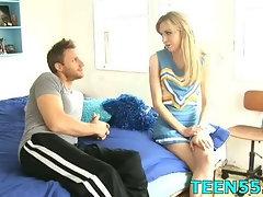 Teen drilled by her boyfriend