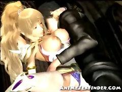 3D Fantasy Princess Get Fucked!
