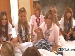Subtitles Japanese schoolgirls sexual truth or dare