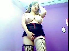 Hot Colombian Webcam Girl