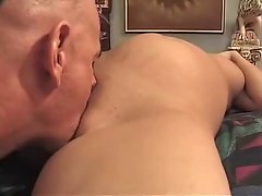 Pregnant Blonde MILF Fucked By Older Man