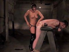 Strapon Prison Sex