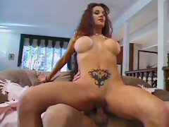 Shawna Edwards - Busty Red-haired Babe Anal
