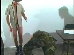 Three soldiers fucking