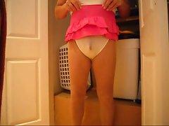 pink skirt jerk