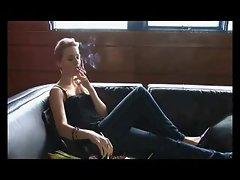Smoking compilation with JOI