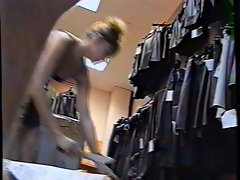 Upskirt Shop Assistant 2