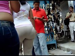 Sexy big ass of some Colombian mom