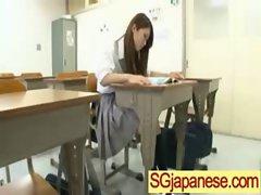 Asian In School Uniform Get Hard Sex video-24