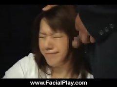 BukkakeNow - Asian sluts love facial cumshots 32