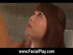 BukkakeNow - Asian sluts love facial cumshots 18