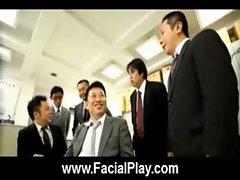 BukkakeNow - Asian sluts love facial cumshots 30