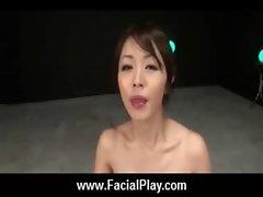 Sexy Japanese Teens Take Nasty Facial Cumshots 03