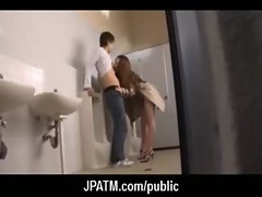 Cute Japanese Teens Expose In Public 03