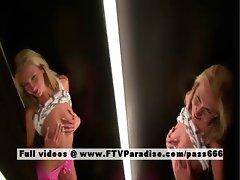 Suzanna tender blonde posing naked