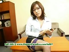 Nao Ayukawa innocent naughty asian teacher is teaching her class how to fuck