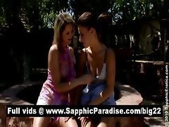 Hailee and Zoe amazing lesbos kissing and fingering pussy and having lesbo sex