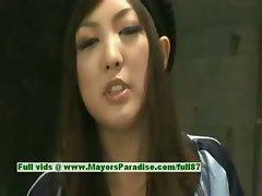 Sayuri Ito innocent naughty sexy asian girl likes hard sex