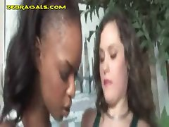 Black Babe Punishes White