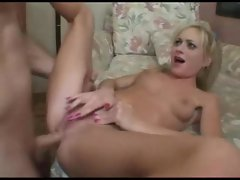 Fucking the filthy whore in the tight cunt